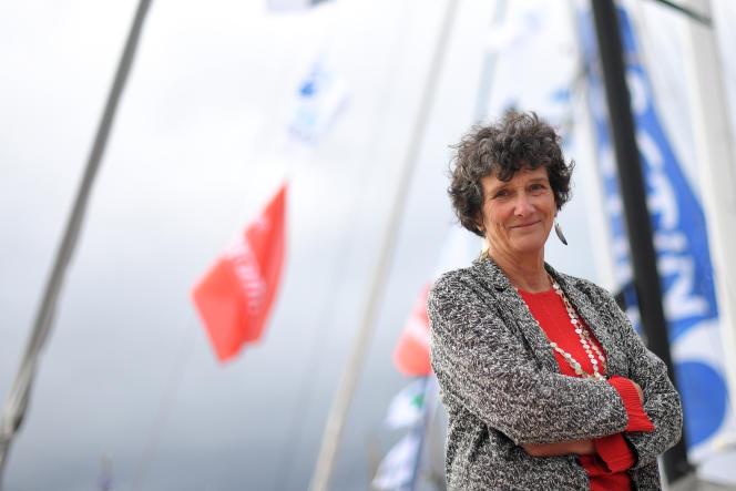 Isabelle Autissier, à Saint-Malo, le 1er novembre2018.