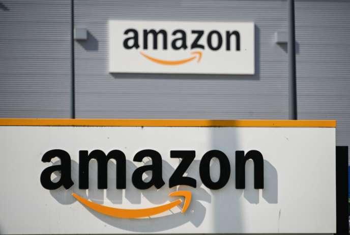 Le site d'Amazon à Lauwin-Planque dans le Nord.