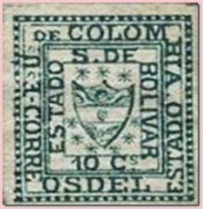Le plus petit timbre du monde est colombien (1863).