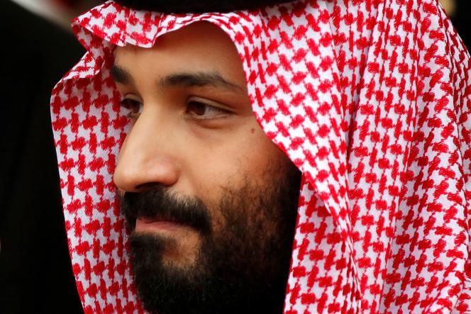 Le prince héritier Mohammed Ben Salman, à Paris, en avril 2018.