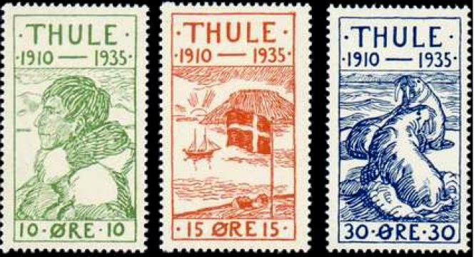 Poste de Thulé, 1935.