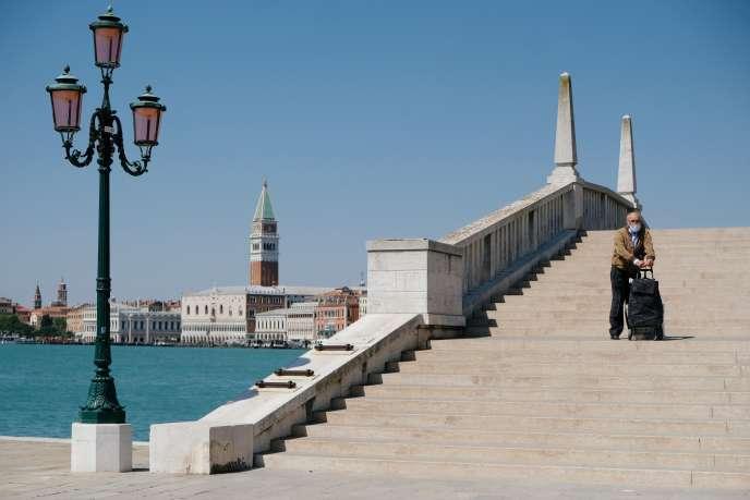 A Venise, le 22 avril.