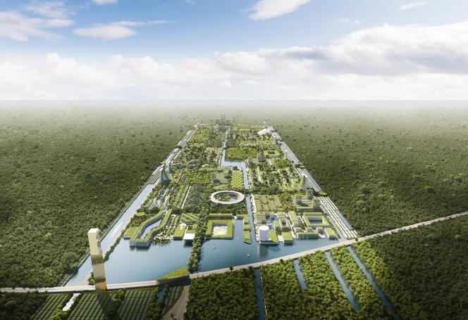 L'architecte italien Stefano Boeri travaille actuellement avec la ville de Cancun, au Mexique, sur un projet de ville forêt.