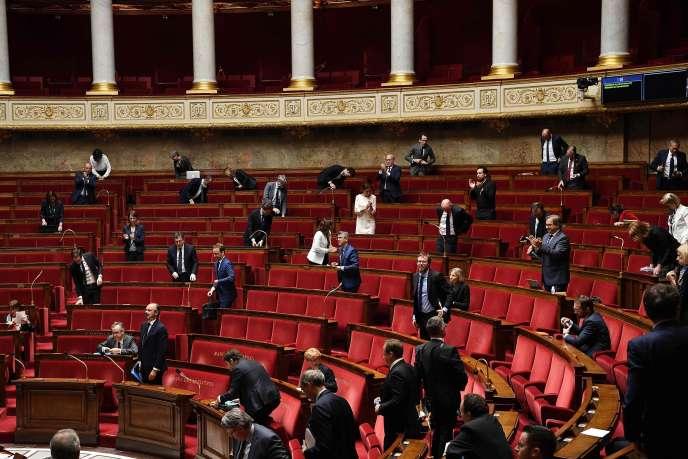A l'Assemblée nationale le 28 avil.