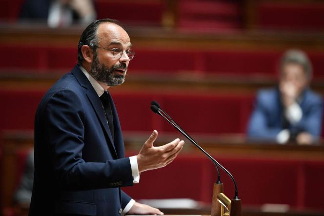 Edouard Philippe à l'Assemblée nationale, le 28 avril.