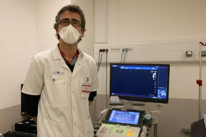 François Cornelis, médecin hospitalier, radiologue à l'hôpital Tenon (Paris 20e).