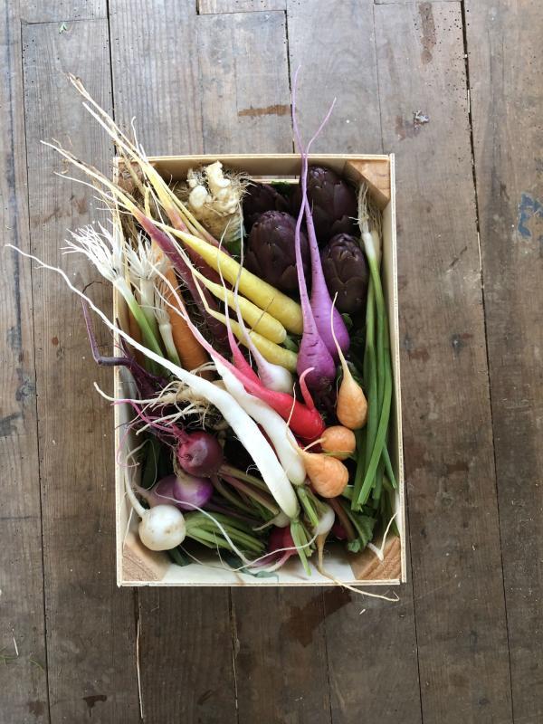 Les mini-légumes d'Eric Roy.