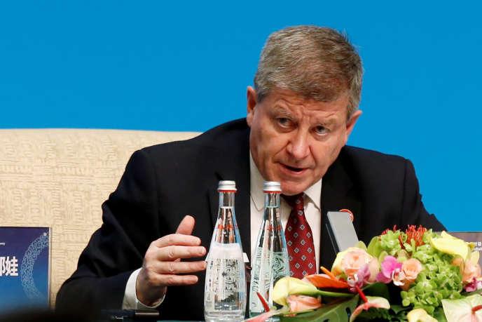 Guy Ryder, directeur général de l'OIT, à Pékin, en novembre 2019.