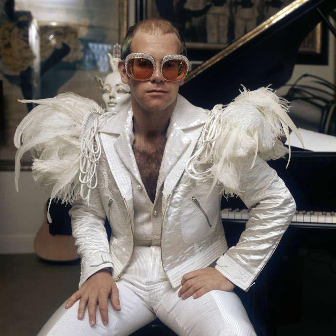 Elton John, en 1973.
