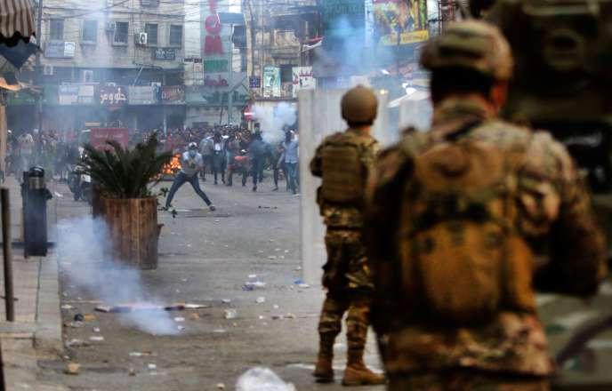 Au Liban, la contestation reprend sur fond de déconfinement et d ...
