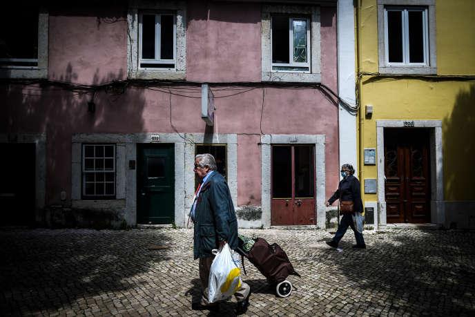 A Lisbonne, le 23 avril 2020.