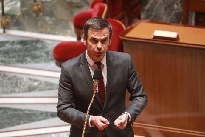 Le ministre de la santé, Olivier Véran, à l'Assemblée nationale, le 29 avril.