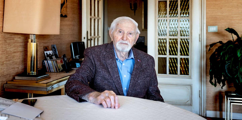 4 mars 2020. Benjamin Orestein, rescapé de la Shoah et des camps de concentration d'Auschwitz.