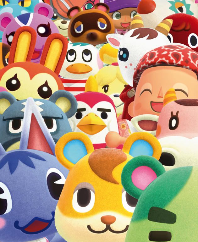 Animal Crossing : New Horizons.