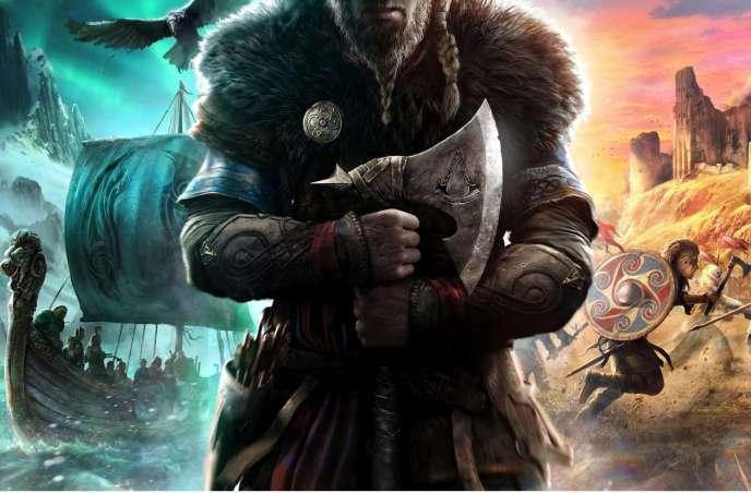 Le premier visuel d'«Assassin's Creed Valhalla », signé par l'artisteBossLogic.