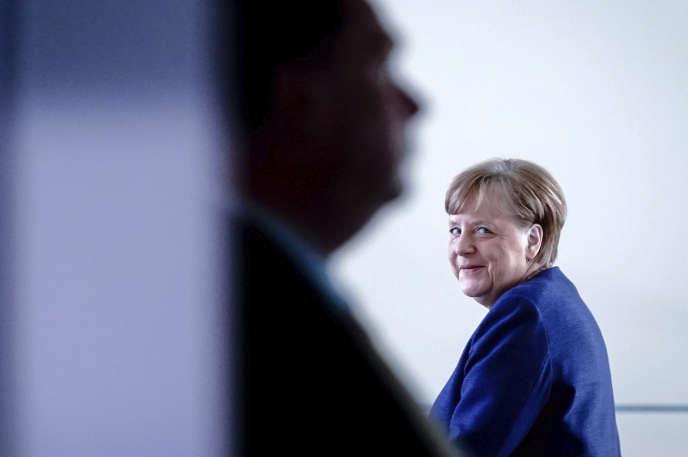 Angela Merkel, chancelière allemande, à Berlin, le 30avril 2020.