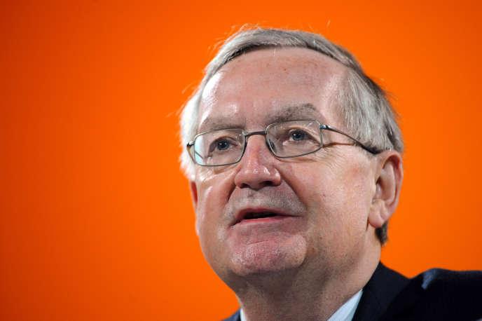 Patrick Artus, chef économiste chez Natixis, en 2012.