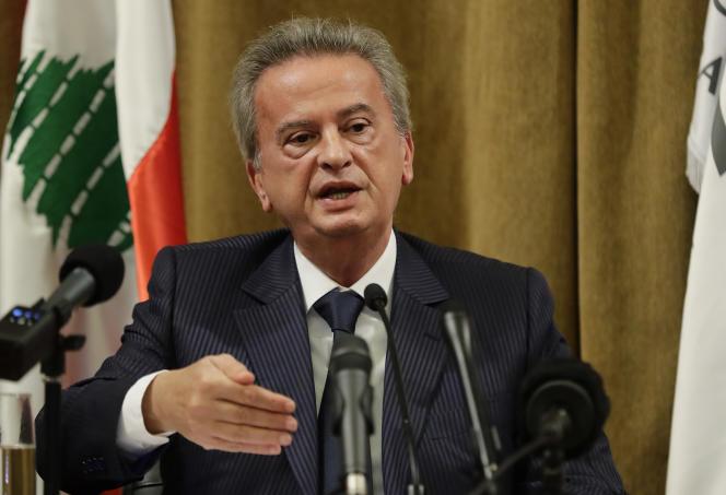Le gouverneur de la Banque centrale du Liban, Riad Salamé, à Beyrouth, en novembre 2019.