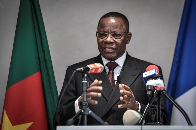 Le principal opposant camerounais Maurice Kamto à Paris, le 30 janvier 2020.