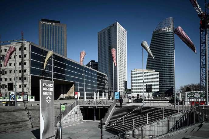 Le quartier d'affaires de La Défense (Hauts-de-Seine).