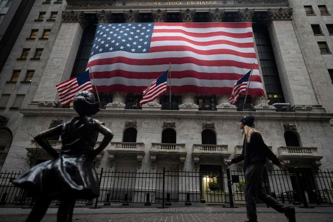 La Bourse de New York, le 30 avril.