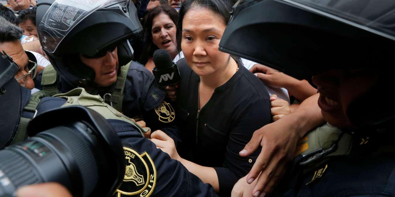 Au Pérou, la chef de l'opposition Keiko Fujimori obtient sa libération sous caution