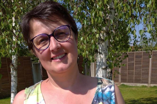 Claire Guil-Paris, infirmière au centre hospitalier universitaire (CHU) de Nantes (Loire-Atlantique).