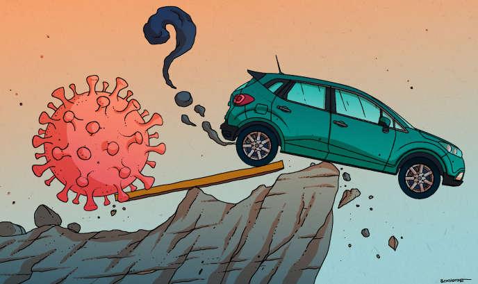 Coronavirus : en chute libre, le secteur automobile appelle l'Etat ...