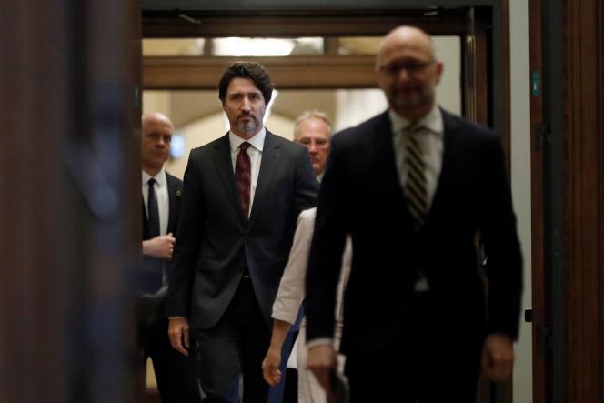 Le premier ministre canadien, Justin Trudeau, le 1er mai, à Ottawa.
