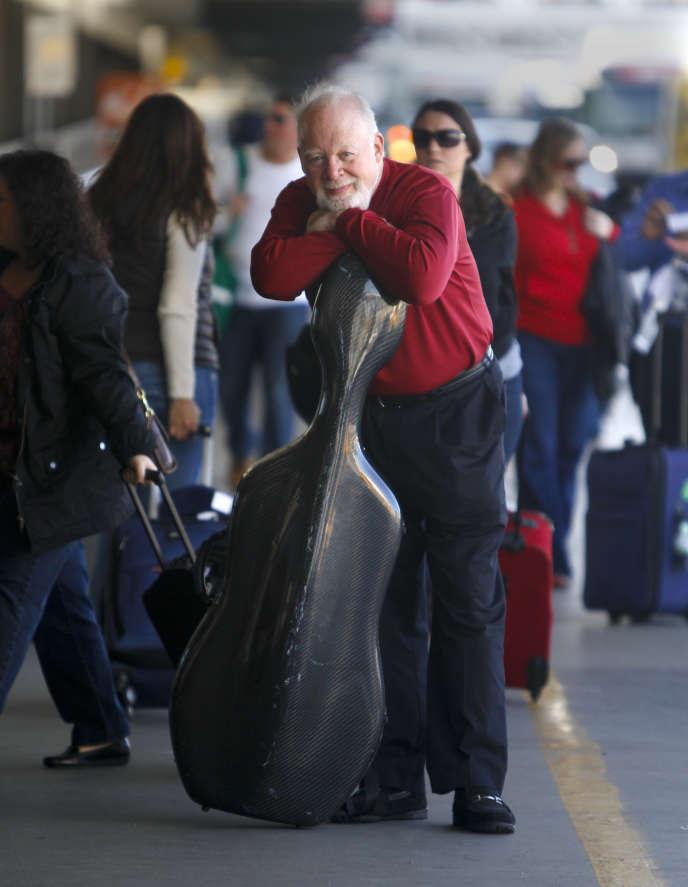 Le violoncelliste Lynn Harrell, endécembre 2012 àLos Angeles.