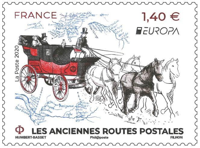 « Les anciennes routes postales», en vente à partir du 11 mai.