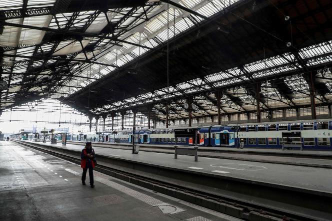 La gare de Lyon, à Paris, le 3 avril.