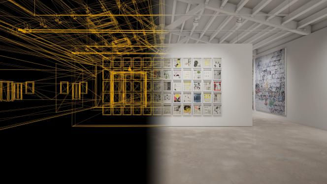 Présentation du logiciel d'exposition virtuelle de la galerie Hauser & Wirth.