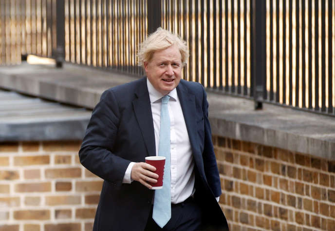 Boris Johnson, à Londres, le 4 mai.