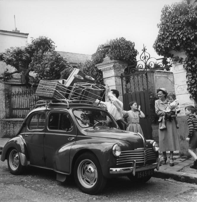Renault 4CV, 1947.