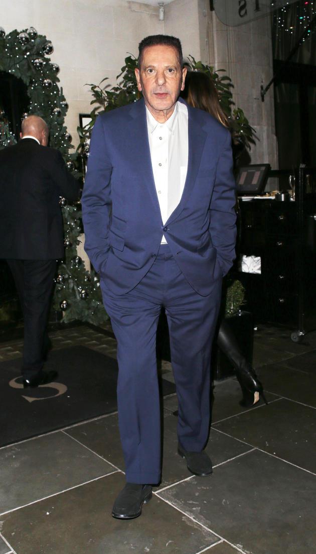 Charles Saatchi, à Londres en novembre 2018.