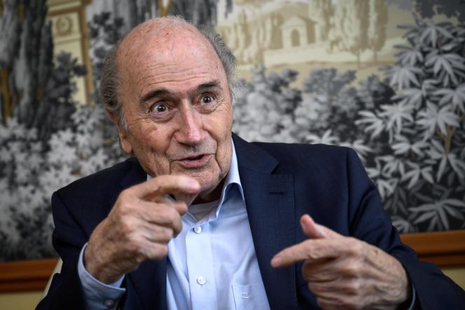 L'ancien président de la FIFA, Sepp Blatter, en mai 2019, à Zurich.
