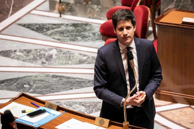 Le ministre de l'agriculture, Julien Denormandie, le 5 mai 2020 à l'Assemblée nationale.