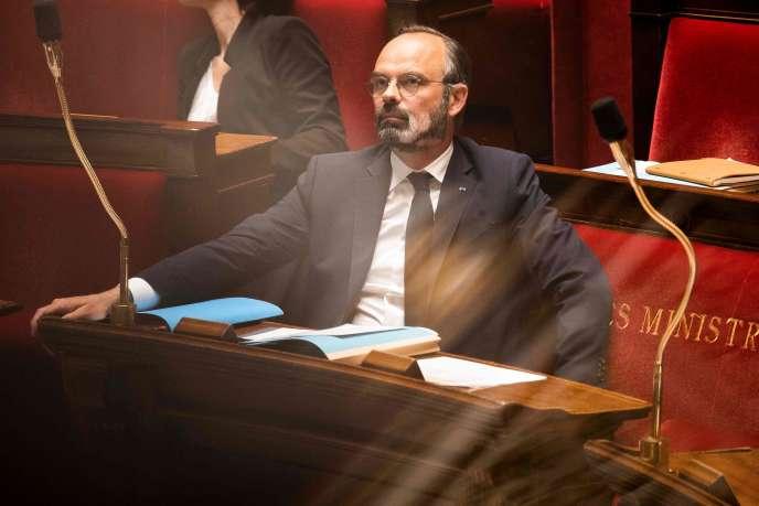 Edouard Philippe, à l'Assemblée nationale, le 5 mai.