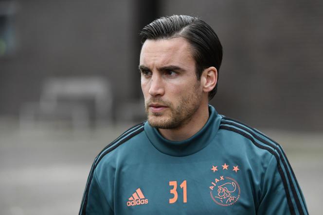 Nicolas Tagliafico (ici lors d'un entraînement en octobre 2019) a disputé en 2019-2020 sa troisième saison avec l'Ajax Amsterdam.