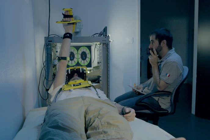 Etude du fonctionnement des capteurs proprioceptifs intramusculaires à l'université de Marseille.