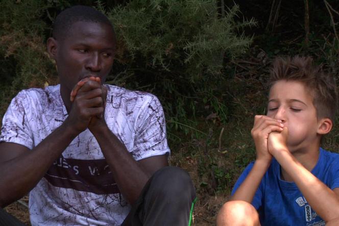 Alhassane etLouka, les deux protagonistes du documentaire d'Ariane Doublet,«Green Boys».