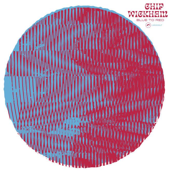 Pochette de l'album« Blue to Red», de Chip Wickham.