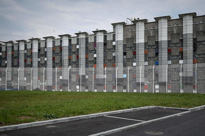 La prison de Fleury-Mérogis (Essonne) en mai 2019, où le taux d'occupation vient de passer sous les 100%.