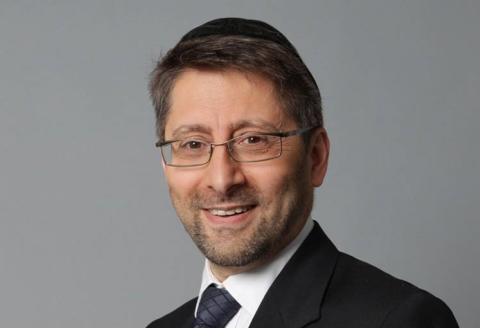 Le grand rabbin de France Haïm Korsia.
