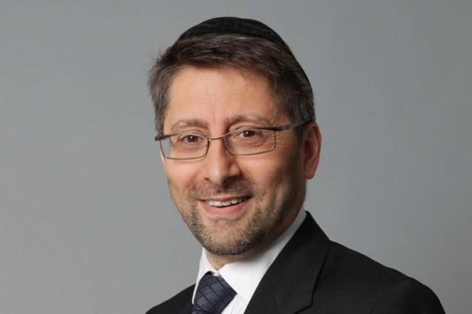 Le grand rabbin de France, Haïm Korsia.