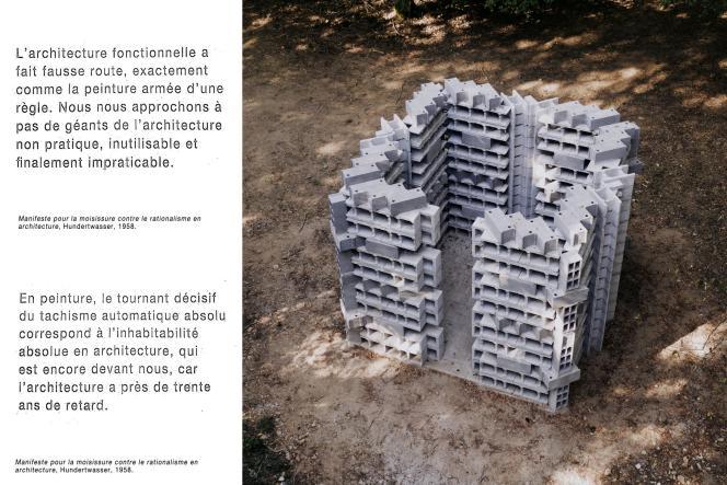 Une proposition de l'architecte Marc Leschelier.