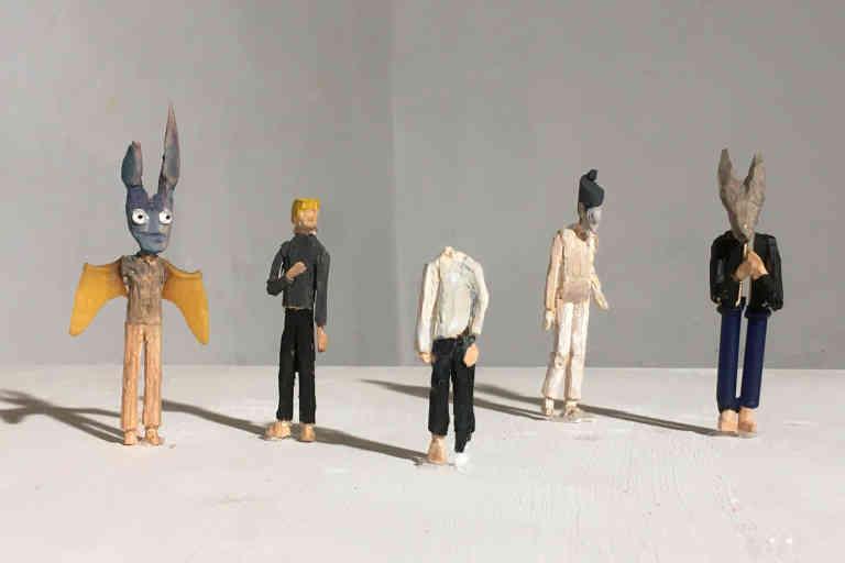 Groupuscule, 2020, de l'artiste Max Coulon,