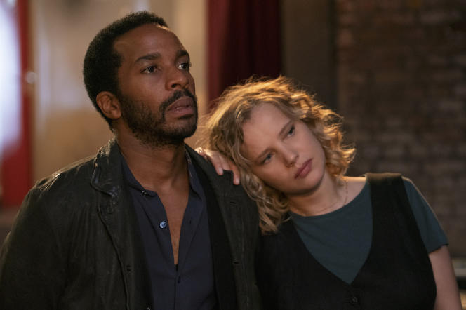 André Holland (Elliot Udo) etJoanna Kulig (Maja) dans« The Eddy», sur Netflix.