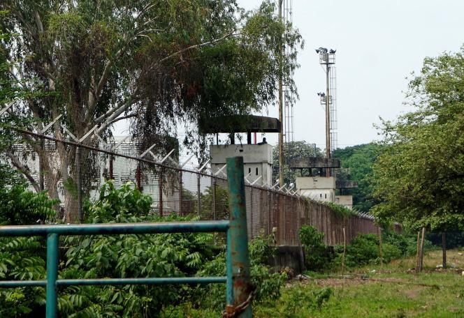La prison de Los Llanos de Guanare (Venezuela), le 2 mai 2020. Une mutinerie s'y est déclenchée, le 1er mai.